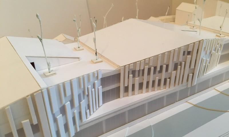 Administracinio pastato projektinis pasiūlymas | maketas
