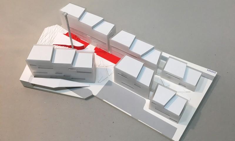 Biurų parko Giraitės g. 3, Vilniuje projektinis pasiūlymas | maketas